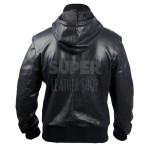 Black-Bomber-Soprano-Perforated-Hoodie-Jacket