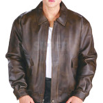 Men-Classic-Distressed-Aviator-Brown-Bomber-Leather-Jacket