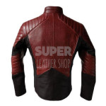 Smallville-Superman-Man-of-Steel-Black-and-Maroon-Jacket