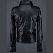BytheR-Mens-Sleeve-Zippers-Biker-Black-Rider-Leather-Jackets