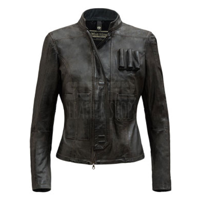 Star Wars Force Awakens Han Solo Women Jacket