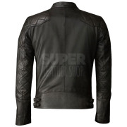 David Beckham Brazil Motorcycle Quilted Jackets