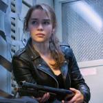 Emilia Clarke Terminator Genisys Sarah Connor Biker Jacket