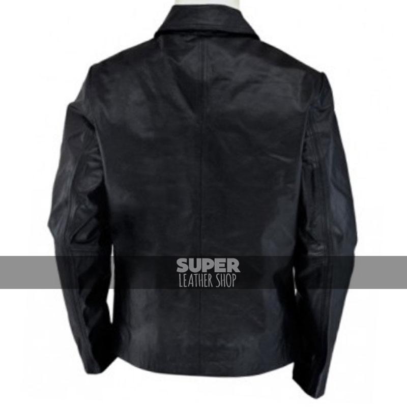 8947bdd1dc1e Daniel Craig Layer Cake Black Leather Jacket