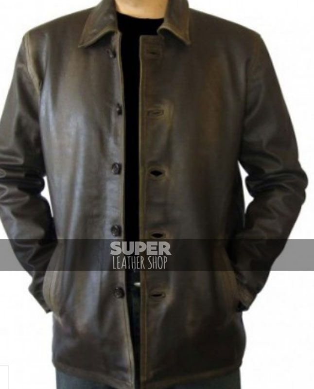 Supernatural Dean Winchester Distressed Coat