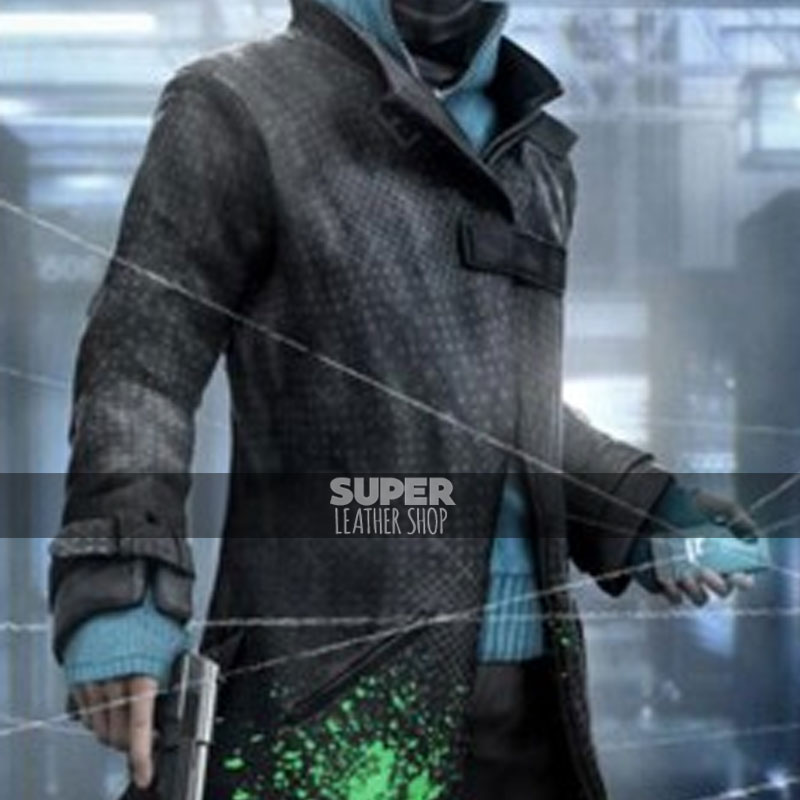 Watch Dogs Aiden Pearce Trench Costume
