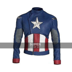 Captain America First Avenger Chris Evans Old-school Jacket