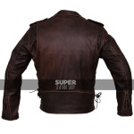 Mens-Brown-Distressed-Leather-Marlon-Brando-Biker-Motorcycle-Armoured-Jacket