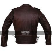 Mens-Brown-Distressed-Leather-Marlon-Brando-Biker-Motorcycle-Armoured-Jacket