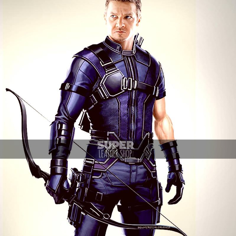Captain America Civil War Jeremy Renner Hawkeye Costume