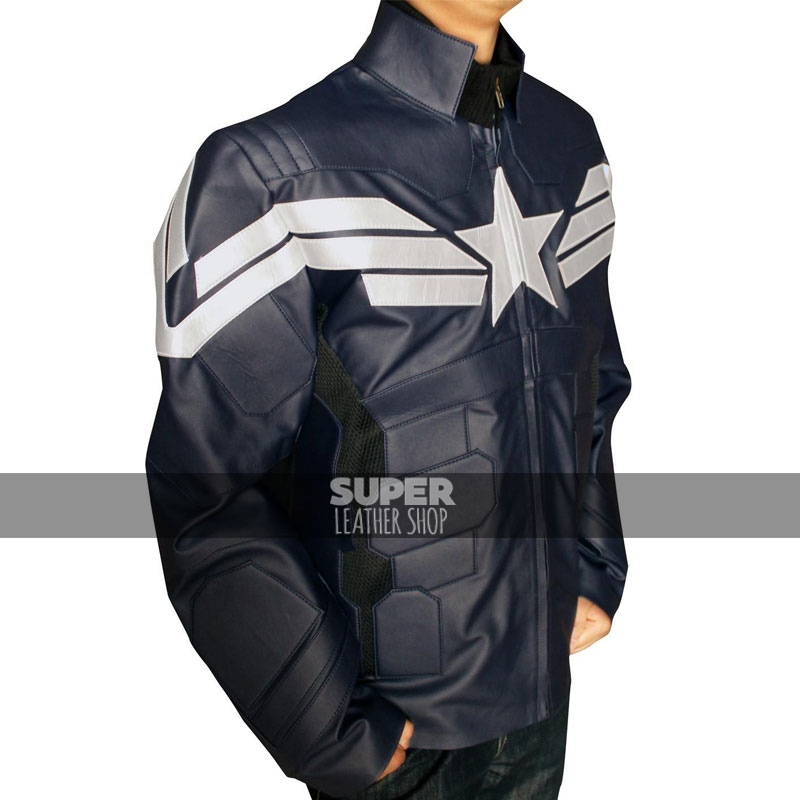 Captain America Winter Solider Chris Evans Costume Jacket