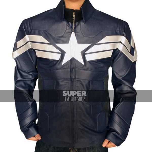 Captain America Winter Solider Chris Evans Costume Jacket