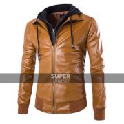slim-fit-tan-bomber-hoodie-jacket-2