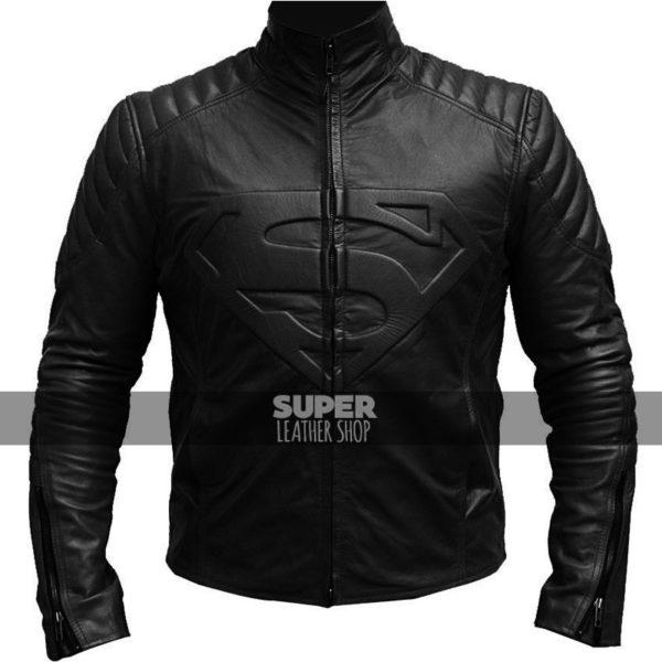 Smallville Superman Clark Kent Black Jacket