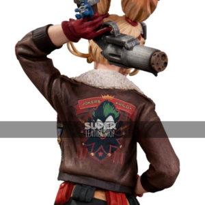 Bombshell-Harley-Quinn-Bomber-Leather-Jackets