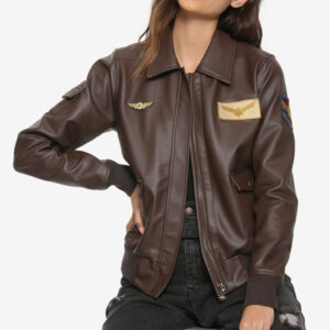 carol danvers leather jacket