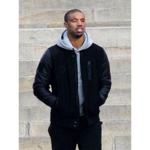 Creed Black Letterman Jacket