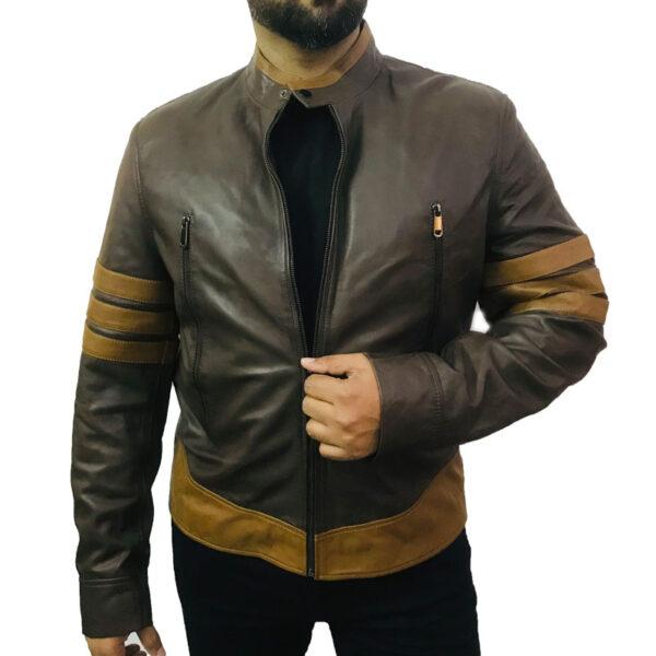 X – Men Origins Wolverine Leather Jacket