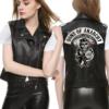 women son of anarchy vest